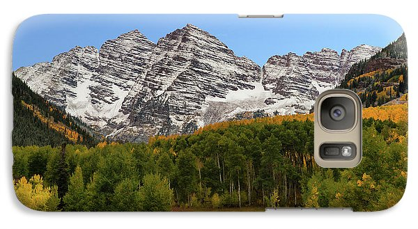 Galaxy Case featuring the photograph Maroon Bells by Dana Sohr