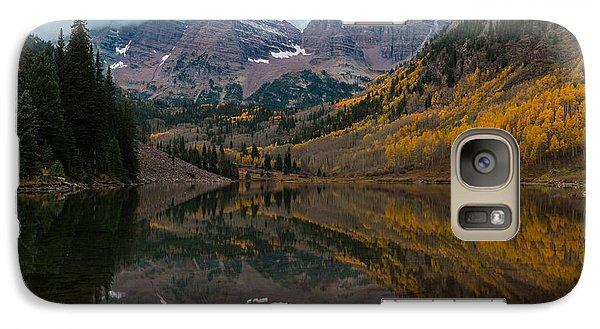 Maroon Bells Galaxy S7 Case by Gary Lengyel