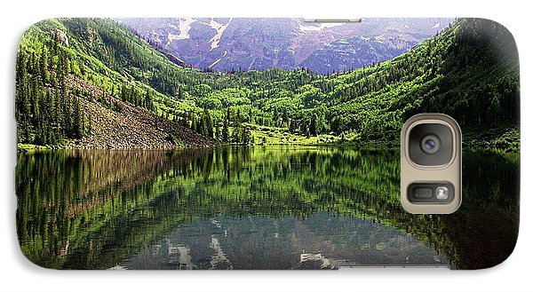 Galaxy Case featuring the photograph Maroon Bells  by Jerry Battle