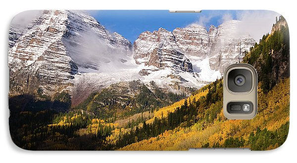 Galaxy Case featuring the photograph Maroon Bells by Steve Stuller