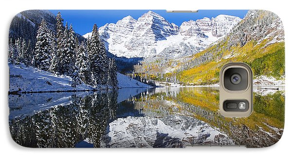Maroon Lake And Bells 1 Galaxy S7 Case