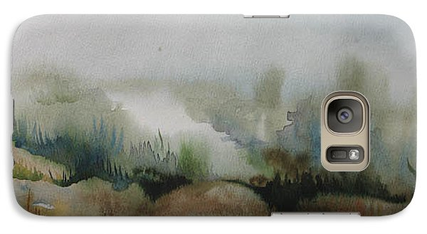 Galaxy Case featuring the painting Marsh by Anna  Duyunova