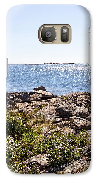 Galaxy Case featuring the photograph Marshall Point by Dick Botkin