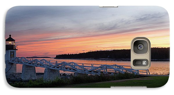Galaxy Case featuring the photograph Marshall Point Lighthouse, Port Clyde, Maine -87444 by John Bald