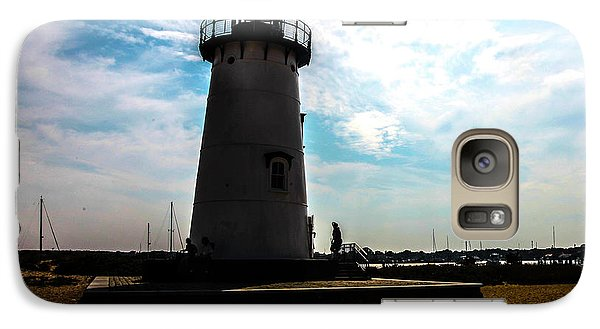 Galaxy Case featuring the photograph Martha's Vineyard Lighthouse - Massachusetts by Madeline Ellis