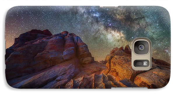 Galaxy Case featuring the photograph Martian Landscape by Darren White