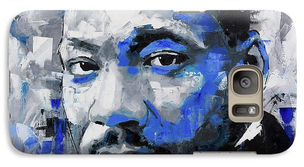 Galaxy Case featuring the painting Martin Luther King Jr by Richard Day