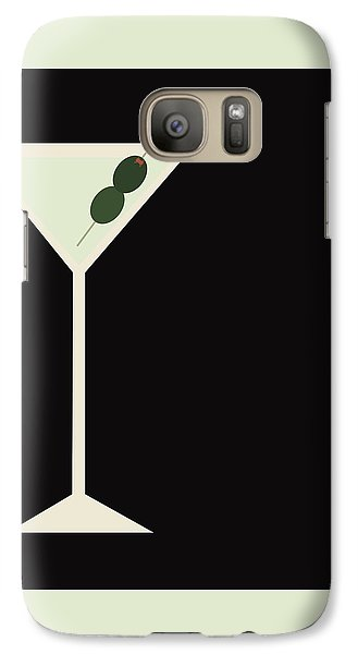 Martini Galaxy S7 Case by Julia Garcia
