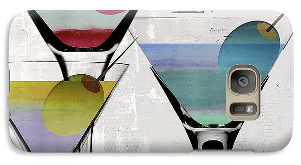 Martini Prism Galaxy S7 Case by Mindy Sommers