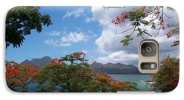 Galaxy Case featuring the photograph Martinique by Mary-Lee Sanders