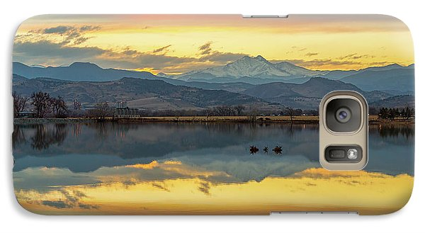 Galaxy S7 Case featuring the photograph Marvelous Mccall Lake Reflections by James BO Insogna