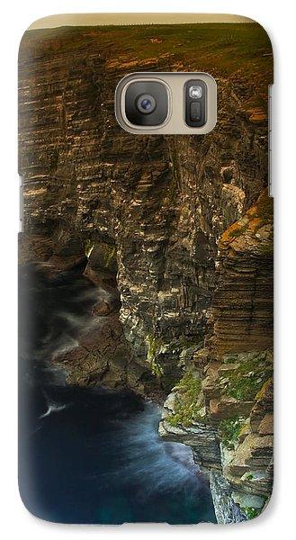 Galaxy Case featuring the photograph Marwick Head Orkney Scotland by Gabor Pozsgai