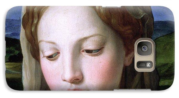 Religion Galaxy S7 Case - Mary by Agnolo Bronzino