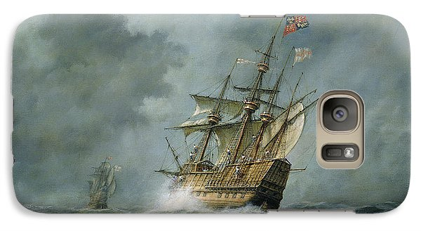 Mary Rose  Galaxy Case by Richard Willis