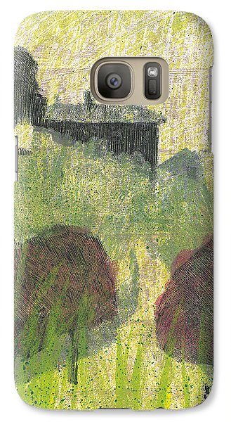 Galaxy Case featuring the painting Mas En Provence by Martin Stankewitz