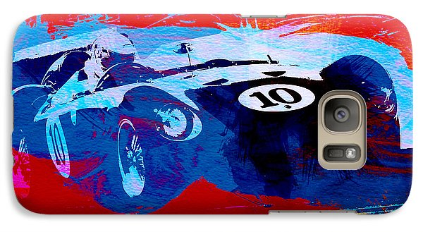 Car Galaxy S7 Case - Maserati On The Race Track 1 by Naxart Studio