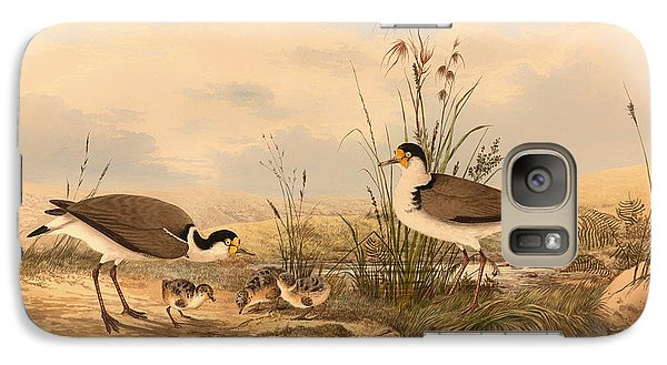 Masked Lapwing Galaxy Case by Mountain Dreams