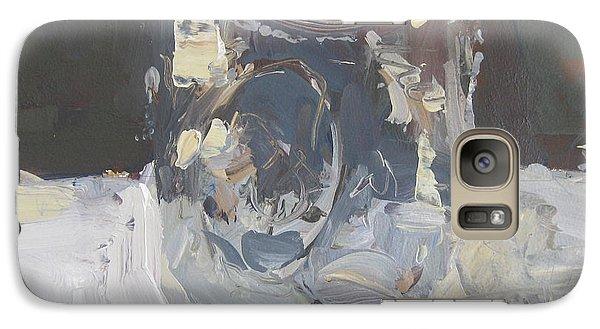Galaxy Case featuring the painting Mason Jar  by Robert Joyner