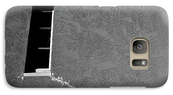 Galaxy Case featuring the photograph Masonic Window by CML Brown