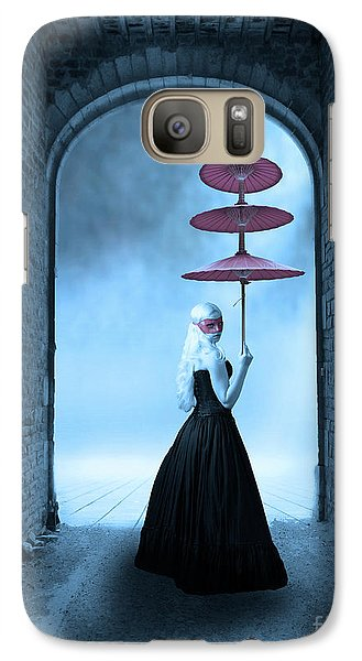 Galaxy Case featuring the photograph Masquerade by Juli Scalzi