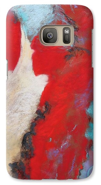 Galaxy Case featuring the painting Masquerade  by M Diane Bonaparte