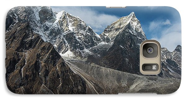 Galaxy Case featuring the photograph Massive Tabuche Peak Nepal by Mike Reid