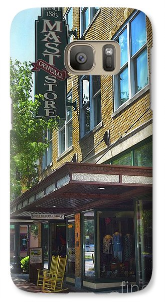 Galaxy Case featuring the photograph Mast General by Skip Willits