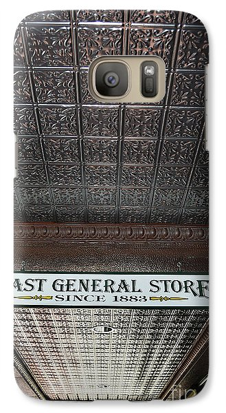 Galaxy Case featuring the photograph Mast General Store II by Skip Willits