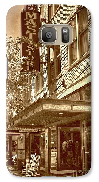 Galaxy Case featuring the photograph Mast General Store by Skip Willits