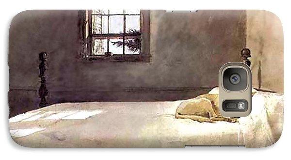 Galaxy Case featuring the painting Master Bedroom  by Andrew Wyeth