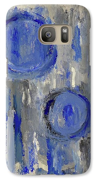 Galaxy Case featuring the painting Maternal by Victoria Lakes
