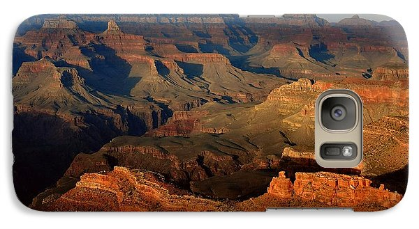 Mather Point - Grand Canyon Galaxy Case by Stephen  Vecchiotti