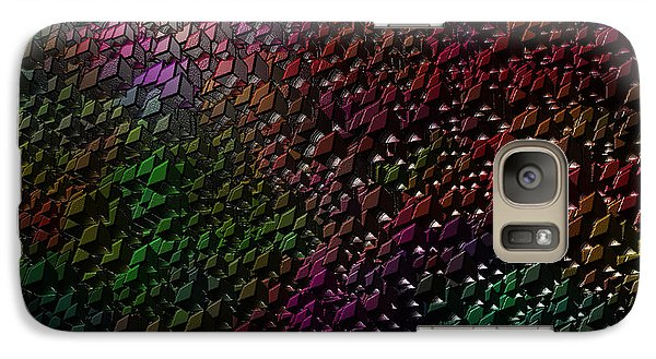 Galaxy Case featuring the digital art Matrizzavano by Jeff Iverson