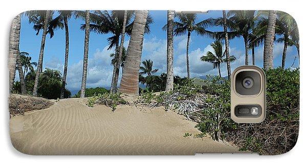 Galaxy Case featuring the photograph Maui Beach by Wilko Van de Kamp