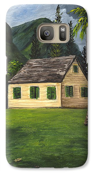 Galaxy Case featuring the painting Maui Nature Center by Darice Machel McGuire