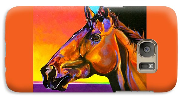 Galaxy Case featuring the painting Maurice by Bob Coonts