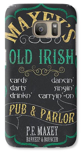 Maxey's Old Irish Pub Galaxy S7 Case by Debbie DeWitt
