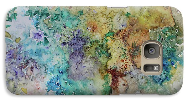 Galaxy Case featuring the painting May Flowers by Joanne Smoley