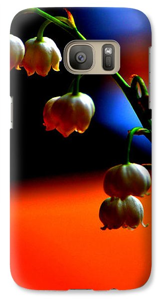 Galaxy Case featuring the photograph May Flowers by Susanne Van Hulst