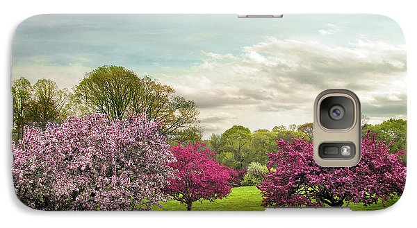 Galaxy Case featuring the photograph May Meadow by Jessica Jenney