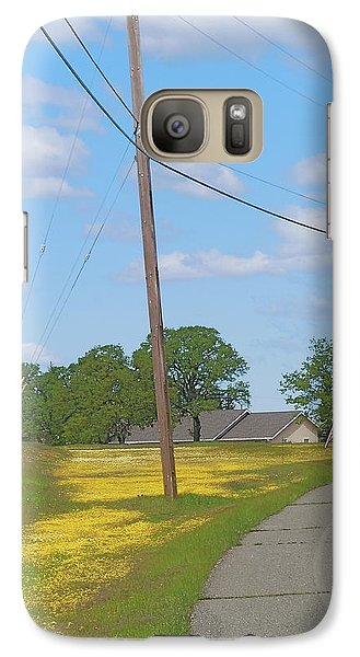 Galaxy Case featuring the photograph May Pole by John Norman Stewart