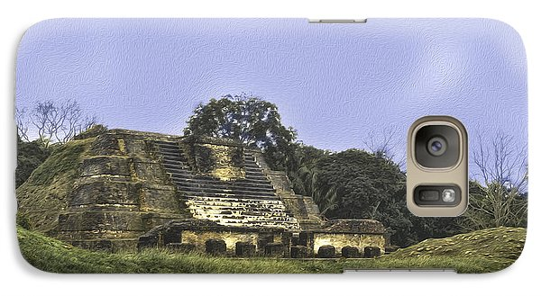 Mayan Ruins In Belize Galaxy S7 Case