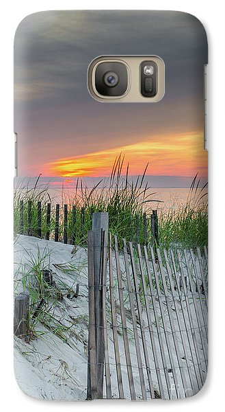 Galaxy Case featuring the photograph Mayflower Beach by Mike Ste Marie
