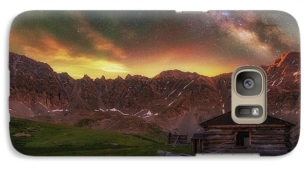 Galaxy Case featuring the photograph Mayflower Milky Way by Darren White