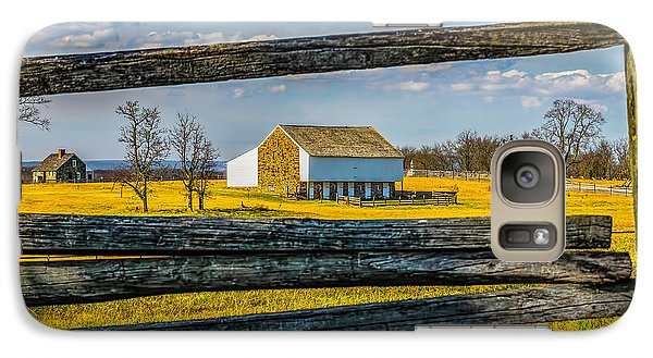 Galaxy Case featuring the photograph Mc Pherson Barn - Gettysburg National Park by Nick Zelinsky