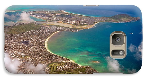 Galaxy Case featuring the photograph Mcbh Aerial View by Dan McManus