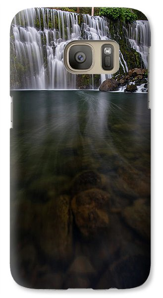 Galaxy Case featuring the photograph Mccloud Falls by Dustin LeFevre