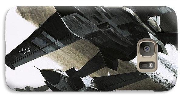 Mcdonnell Douglas F15 Eagle Jet Fighter Galaxy S7 Case