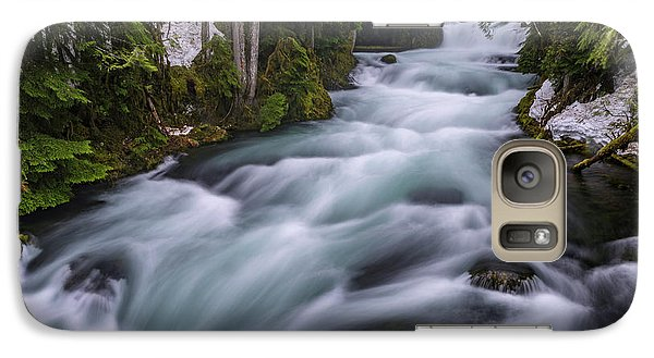 Galaxy Case featuring the photograph Mckenzie River by Cat Connor