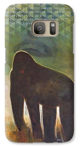 Gorilla Galaxy S7 Case - Me Jane by Sandra Cohen